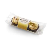 费列罗 费列罗榛果威化巧克力 3粒/条 16条/盒,6盒/箱  6盒/箱