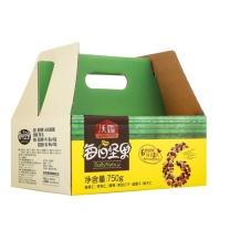 沃隆 每日坚果礼盒 750g (黄色) 礼盒装