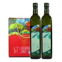 中粮 COFCO 安达露西纯正橄榄油礼盒 750ml*2  箱规:6盒/箱
