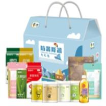 国产 夏季清凉大礼包  有机绿豆 、有机银耳、网红燕麦、有机莲子、进口果汁 包装定制logo