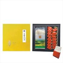 宝山猴 富硒米套装  米、茶具