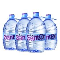 景田 Ganten 包装饮用水 饮用天然泉水 4.6L *4瓶