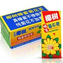 椰树 蜂蜜菊花茶 245ml*24盒  植物茶饮料