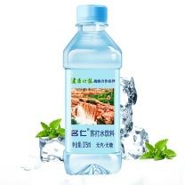 名仁 苏打水饮料 无糖无汽弱碱性水 375ml*24瓶