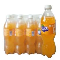 可口可乐Coca-Cola芬达橙味汽水680ml*12瓶