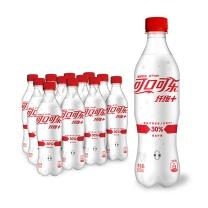 可口可乐Coca-Cola纤维无糖碳酸饮料 500ml*12瓶