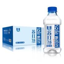 优珍 苏打水饮料 350ml  24瓶/箱 无糖无汽弱碱饮品水