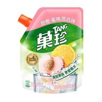 菓珍 甜橙蜜桃混合壶嘴装 400g/袋  (新老包装随机发货)