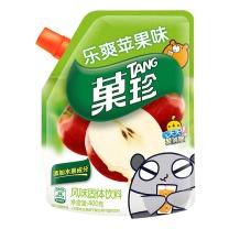 菓珍 乐爽苹果壶嘴装 400g/袋  (新老包装随机发货)