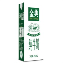 伊利 金典纯牛奶 250ml*12盒  12盒/箱 6箱/件