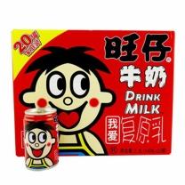 旺旺 WantWant 旺仔牛奶 145ml  20罐/箱 原味铁罐 整箱 欢乐车版家庭装