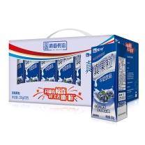 蒙牛 mengniu 蓝莓果粒 250g  12盒/箱(外箱:265*180*145mm 毛重:6kg)