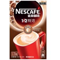 雀巢 Nestle 咖啡速溶 1+2 特浓 微研磨冲调饮料 13g/条,7条/盒