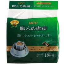 悠诗诗 UCC 滴滤式职人咖啡粉(深厚浓郁) 7g*18条/袋