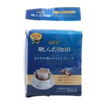 悠诗诗 UCC 滴滤式职人咖啡粉(圆润柔和) 7g*8条/袋