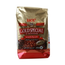 悠诗诗 UCC 风味咖啡豆 360g/袋