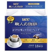 悠诗诗 UCC 滴滤式职人咖啡粉(圆润柔和) 7g*18条/袋
