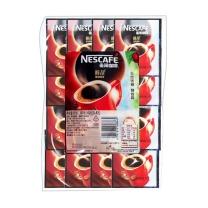 雀巢 Nestle 醇品100%纯咖啡 1.8g/包  100包/袋 10袋/箱 10包/箱