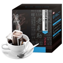 铭氏 老上海蓝山风味挂耳咖啡 10g*10包/盒  12盒/箱