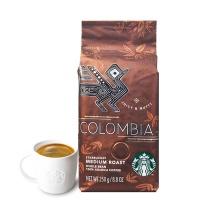 星巴克 哥伦比亚咖啡豆 250克/包  12包/箱