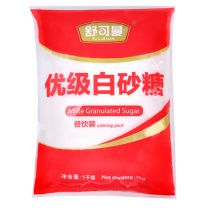 舒可曼 白砂糖 1kg (红色)
