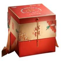 海堤 富贵满堂茶叶礼盒(大红袍+红茶) AT153 400克 (红) 8盒/件