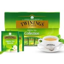 川宁 TWININGS 绿茶精选装 1.7g/包  20包/盒 8盒/箱 8盒/箱