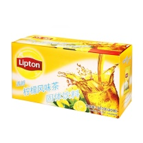 立顿 Lipton 清新柠檬茶 18g/包  10包/盒 24盒/箱