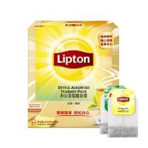 立顿 Lipton 办公茶包组合装 2g/包  100包/盒 12盒/箱 (红茶+绿茶)