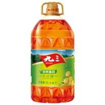 九三 非转基因 食用油 三级 大豆油 5L (黄色)