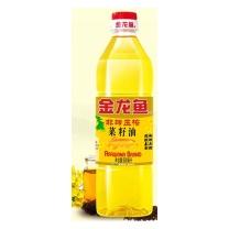 金龙鱼 非转基因物理压榨菜籽油 900ml  15瓶/件