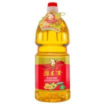 豫老汉 花生浓香型食用植物调和油(非转基因) 1.6L
