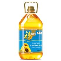 福临门 食用油 葵花籽清香食用植物调和油 中粮出品 5L