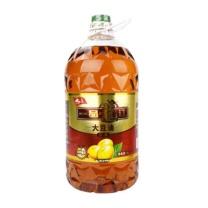 九三 一品龙江三级非转基因大豆油 5L