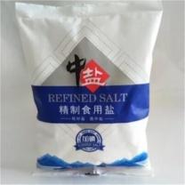 中盐 加碘精制食用盐 500g