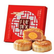 华美 Huamel 情满中秋月饼礼盒 320g