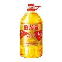 金龙鱼 黄金比例食用调和油 (非转基因) 5L/桶  4桶/箱