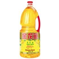 金龙鱼 纯正菜籽油 1.8L/桶  6桶/箱 (非转基因)