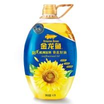 金龙鱼 葵花籽油4L  (非转基因)