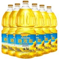 金龙鱼阳光葵花籽油 1.8L/桶 6桶/箱 起订量20箱(非转基因)
