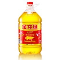 金龙鱼 黄金比例食用调和油 5L/桶  4桶/箱(转基因)YCZY 起订量750箱