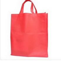 礼品环保袋 55*48*10cm (红色) 5000只以上可印制LOGO
