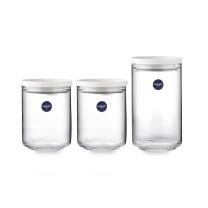 乐美雅 带勺可叠储物罐三件套 LC-H122H