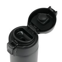双立人 Zwilling 真空保温杯两件套 ZW-BP105 弹跳杯450ml黑色+保温杯420ml金属红