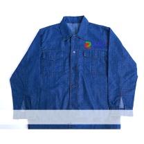 国产定制牛仔衣薄款 含LOGO  (国电投链接,起订量24件)