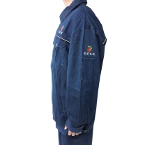 国产 定制无挂里牛仔工装(上衣+裤子)(DZ)  (261套起订)
