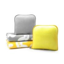 和智 靠垫包包 兔子毛毯 毛毯75*100cm,包包23*22cm