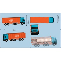 国产 定制移动电源 小车模型 3000毫安(DZ)  中远洋链接(200个起订)
