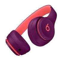 Beats Solo3 Wireless 头戴式 蓝牙无线耳机 - Pop 红 MRRG2PA/A  起订量100