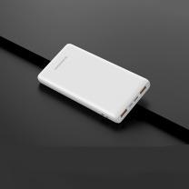 河歌 迷你快充移动电源 2.4A10000毫安 (黑色/白色)